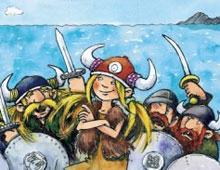 Die wilden Wikinger in gefährlicher Mission